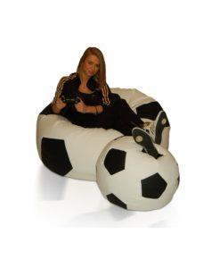 Sestava sedacích míčů Fotbal (XXXL + L)