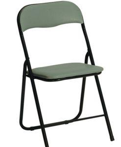 Skládací židle Ivria - šedá