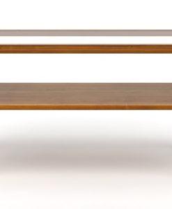 Skleněný konferenční stolek Celie