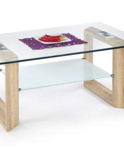 Skleněný konferenční stolek Tilon 1