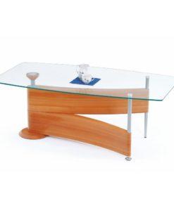 Skleněný konferenční stolek Tomer
