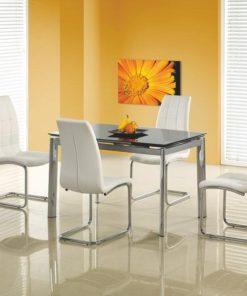 Skleněný stůl Torgio 2 - černý