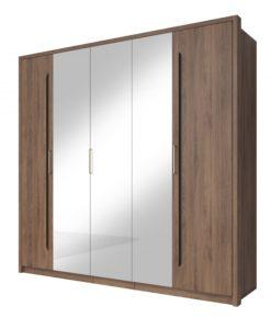 Velká šatní skříň se zrcadlem Teriel 1