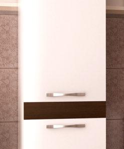 Vysoká závěsná koupelnová skříňka Elaila bblw 1