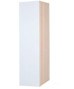 Vysoká závěsná skříňka Saly v dvoubarevném provedení