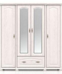 Šatní skříň se zrcadlem Cornel 2