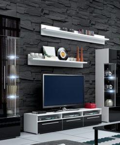 Obývací stěna s LED osvětlením Adamina 1