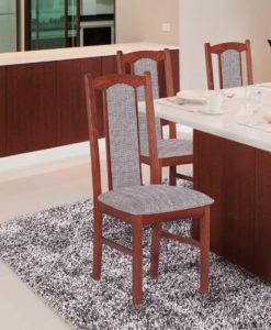 Čalouněná jídelní židle Tobias 1