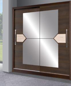 Šatní skříň s posuvnými dveřmi Donzel 2