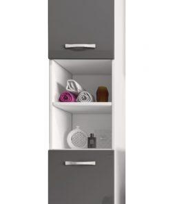 Vysoká koupelnová skříňka Manela bsl 1