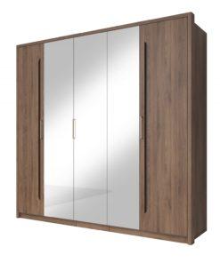 Šatní skříň se zrcadlem Teriel 1