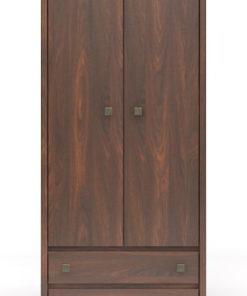 Dvoudveřová šatní skříň Cezar 1