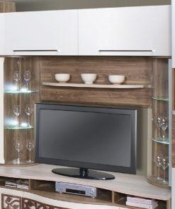 TV panel se skříňkami Lauryn 2