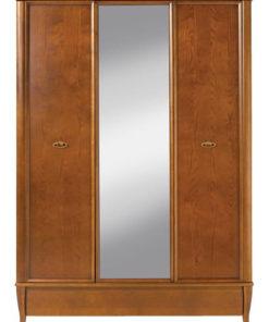Zrcadlová šatní skříň Celie 2